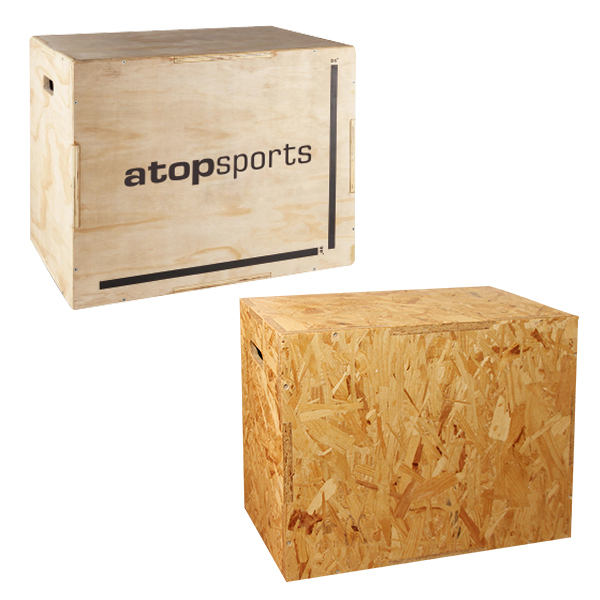AT-CPB01 (Wooden Plyometric Box)
